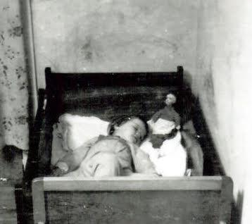 sidste middagslur på Tøjmestervej 1954