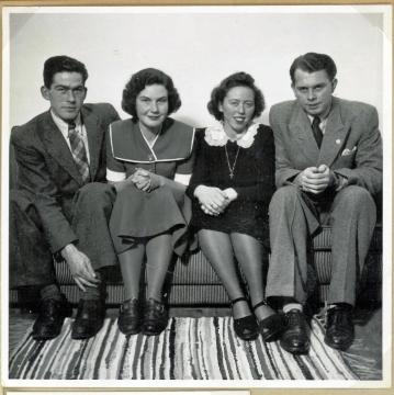 På Holsteinsgade ca. 1950