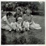 To fastre på besøg i 1952