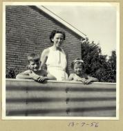 Min mors fødselsdag Agerledet 13.7.1956