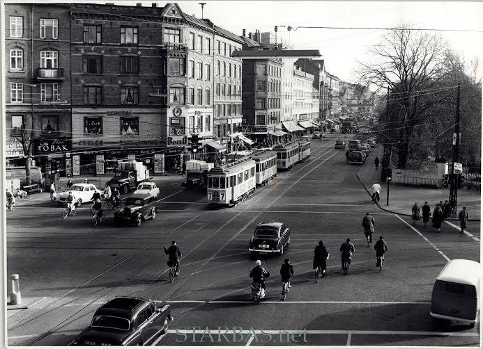 Nørrebros Runddel ca 1958