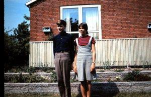 Torben og jeg på Agerledet i 1966