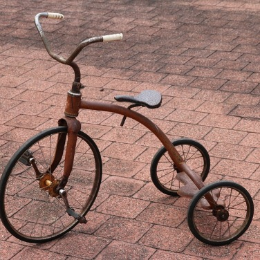 Trehjulet retrocykel fundet på nettet