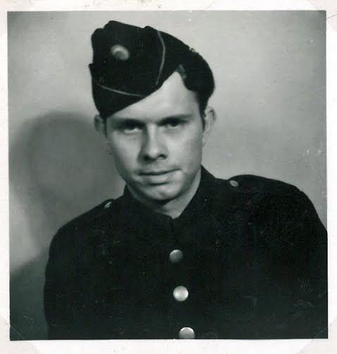 Aage Holm som CB under krigen