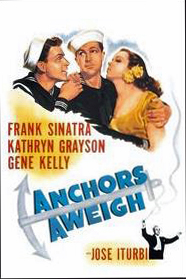 Film plakaten fra Anchors Aweigh