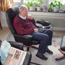 min far på sin vante plads i 2005
