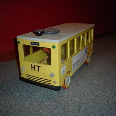 H.T. bussen til mine børn i firserne