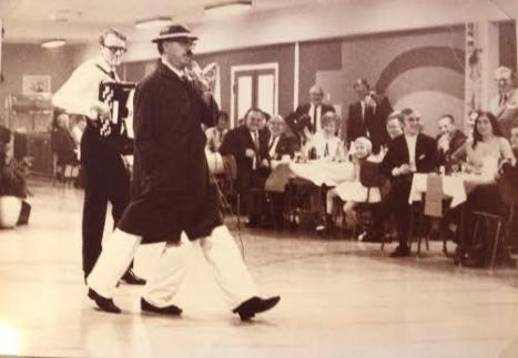 """Min far som """"Jack"""" på M.E.C. ca 1965"""