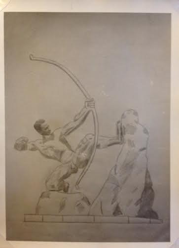 Fars tegninger fra Glyptoteket
