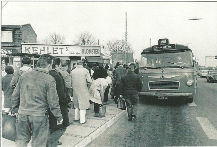 Herlev og bus 150 i Herlev