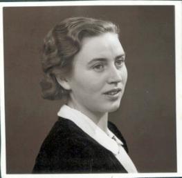 min moster Eva