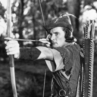 Adventures of Robin Hood med Errol Flynn 1938