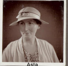 Min mormor Asta fra 1930-erne