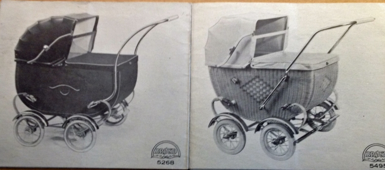 Brønd barnevogne 1930-1940