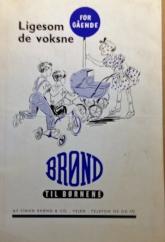 Dukkevognskatalog fra Brønd
