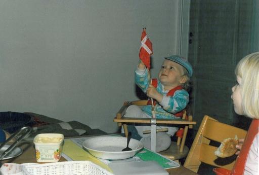 Ditlev fylder 1 år på Frederiksberg