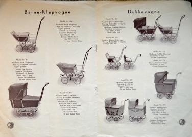 Globus Dukkevogne fra 1930-erne