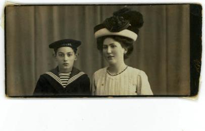 Svend og Asta ca 1910