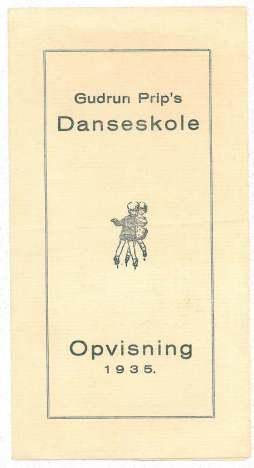 Fra danseskolen i Holbæk
