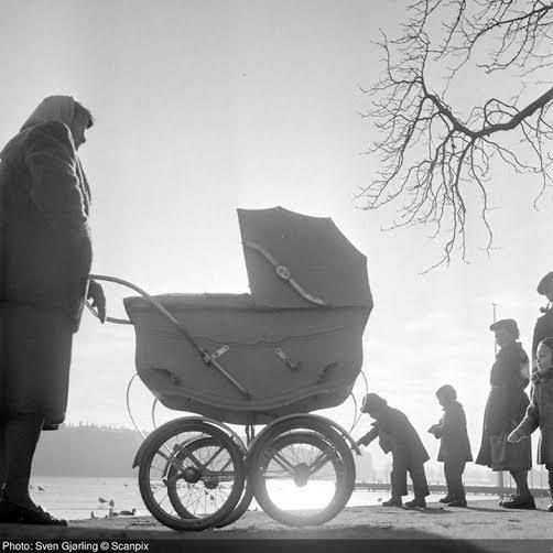 Barnevogn i halvtredserne fra søerne - Copy