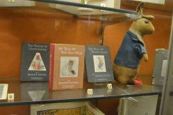 Beatrix Potters første børnebøger om Peter Rabibit og venner