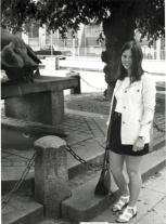 Besøg i Aarhus o 1972