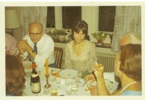 Fra min fars 50 års fødselsdag i 1970 lige før jeg tog til England at arbejde