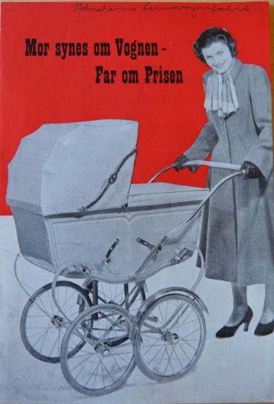Københavns Barnevognsfabrik fra krigen næsten magen til