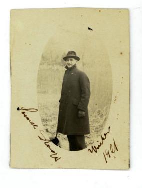 Mormors bror Svend Nielsen som 21 årig i 1921