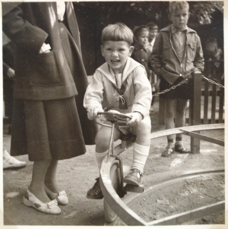 Torben Holm i Tivoli 1954