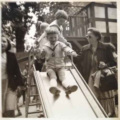 Torben og Maria Holm i Tivoli 1954
