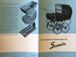 Bibliotek Småtryksamlingen Scandia ca. 1958