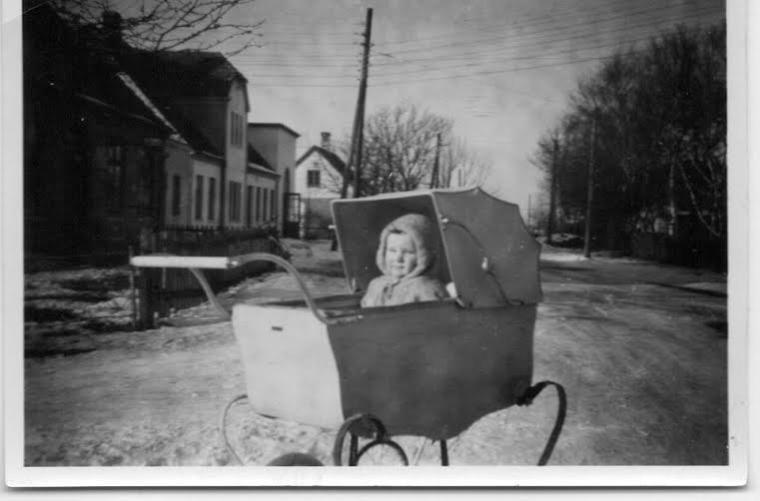 benny-i-barnevogn-1950-nybolle