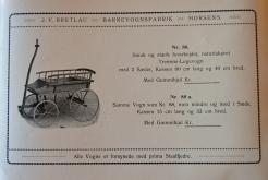 Horsens barnevognsfabrik Bretlau katalog 1925 Det Kgl. Biblioteks Småtryksamling