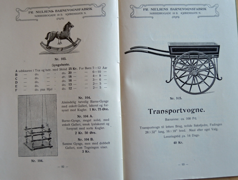Fr.Nielsens Barnevognsfirma Det Kgl. Bibliotek småtryksamlingen