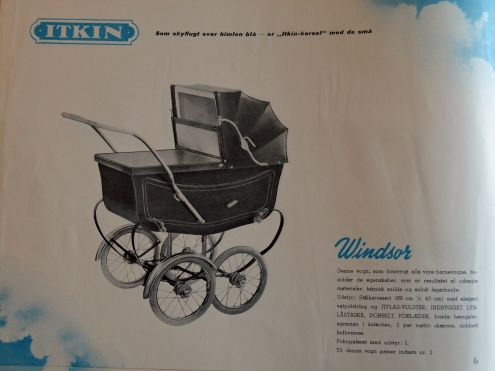 Jubilæumskataloget fra Itkin på Landemærket 1951