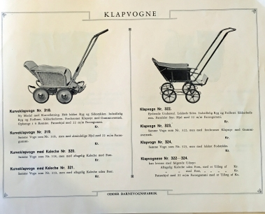 Odder katalog 1936 klapvogne