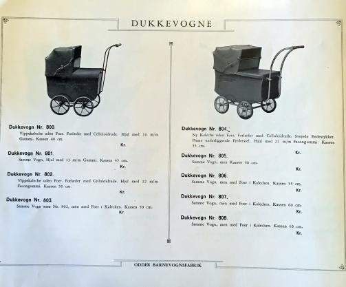 Odder katalog 1936 dukkevogne