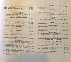 Odder katalog 1936 prisliste