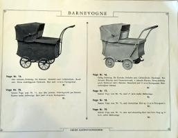Odder katalog 1936 barnevogne