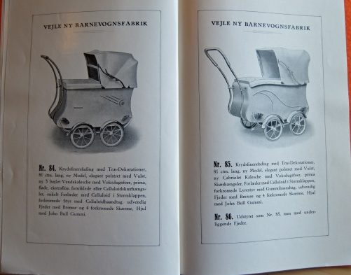 Vejle Barnevognsfabrik Barnevogne