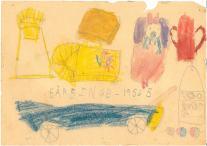Babyting højstol indsats lift rangle og barnevogn 1956