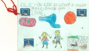 Historie om Ole og Lise der leger 1957/58
