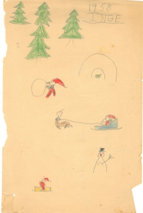 Julemotiv 1958