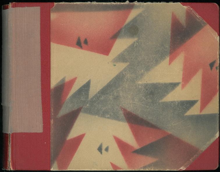 Min mors røde album i moderne mønster