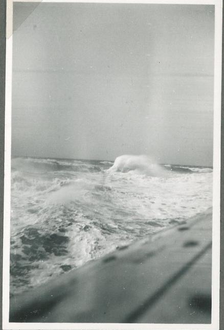 Vesterhavet i oprør ved afgangen fra Hirtshals