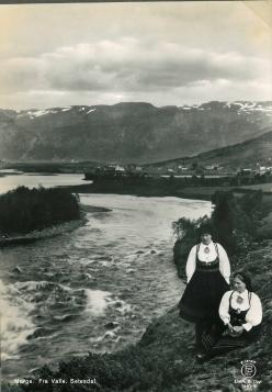 Norge. Fra Valle Setesdal