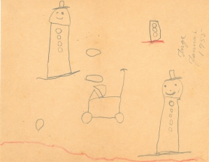 Snemænd januar 1955