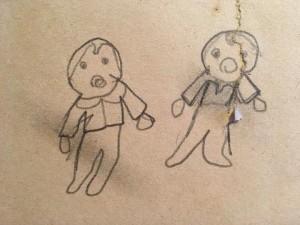 tegning-af-tvillinger