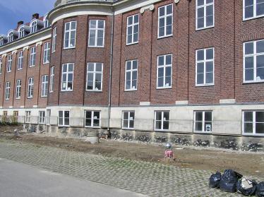 Det tidligere Børnehospital på Fuglebakken foto fra omkring 2005